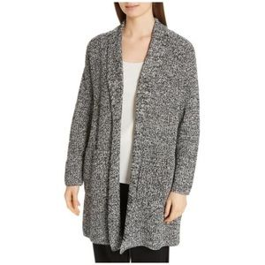 Eileen Fisher Organic Cotton Boyfriend Cardigan